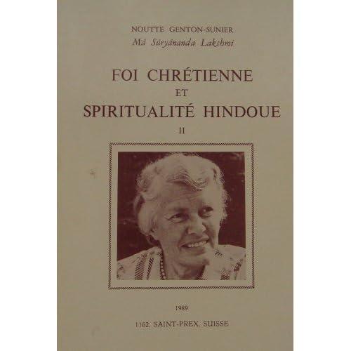 Foi chrétienne et spiritualité hindoue