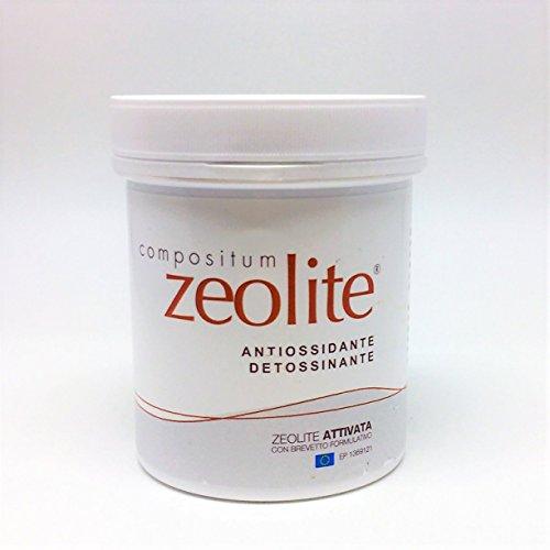 Zeolite Compositum - 150 gr in polvere antiossidante e purificante