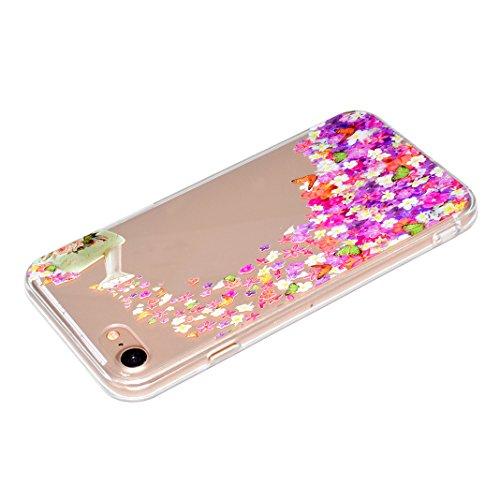 "Coque iPhone 6 Plus Silicone Housse,Etui iPhone 6S Plus Gel Transparente Case Cover Rosa Schleife® 5.5"" Apple iPhone 6 Plus TPU Silicone Gel Souple Case Coque de Protection Portable Smartphone pochett 56-style"