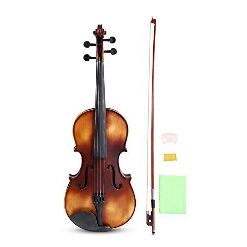 Bratsche, 16 Zoll Klassische Viola Handgefertigte Fichte Bratsche für Anfänger mit Kasten, Bogen,...