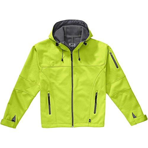 SLAZENGER Match Softshell Jacke mittelgrün/hellgrau