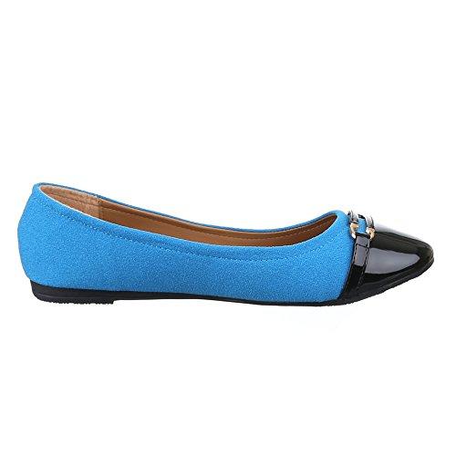 Ital-Design - Scarpe chiuse Donna Blu (blu)