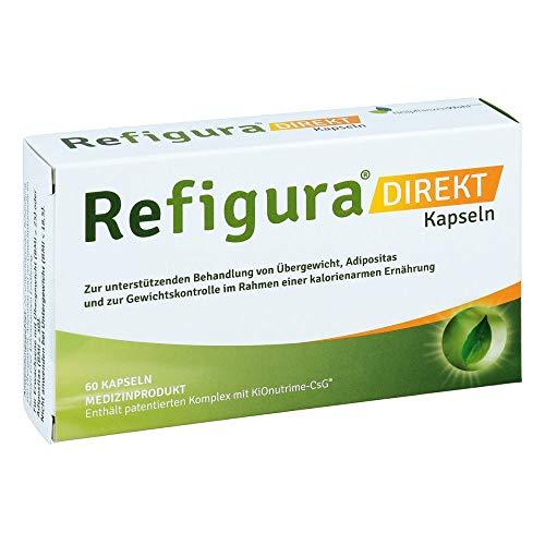 Refigura Direkt Kapseln Spar Set: 2 x 60 St. Unterstützt bei Übergewicht, zur Gewichtskontrolle im Rahmen einer kalorienarmen Ernährung