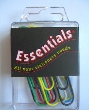 Essentials - Riese Büroklammern (10 Stück) Wellig - Paper Clips -