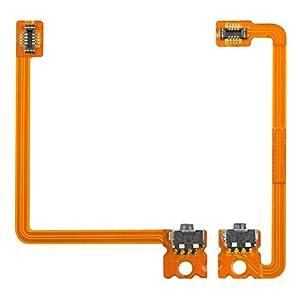 Gam3Gear LR links rechts Schulter-Trigger-Knopf Schalter-Flexkabel für Nintendo 3DS XL