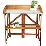 Plegable Mesa de siembra de madera 89x 85x 44cm