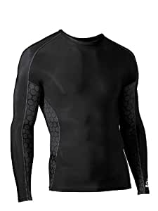 McDavid Mens Compression Shirt Long Sleeve Crew Neck Size (Large)