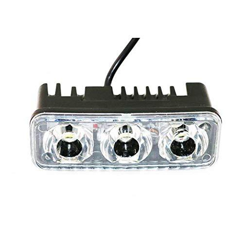 AUTOECHO Motorrad-LED-Scheinwerferlampe mit allgemeiner 12V-Nachrüstung Spotlampe 12-80V Konstantstrom-Scheinwerfer Ultra Bright White Light Zusatzscheinwerfer für Motorrad