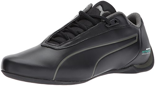 180b8cafb93 Puma Men s Mercedes Amg Petronas Future Cat Black Dark Shadow Ankle-High  Leather Fashion