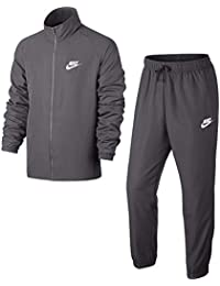 e35f5a691 Nike M NSW TRK Wvn Basic Chándal, Hombre, Gris/Blanco (Gunsmoke)