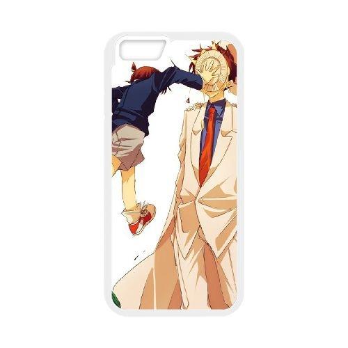 Detective Conan coque iPhone 6 4.7 Inch Housse Blanc téléphone portable couverture de cas coque EBDXJKNBO10535