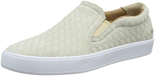 Lacoste Damen Tamora Slip 116 2 Caw Nat Sneaker, Beige (Natural-A75), 40 EU