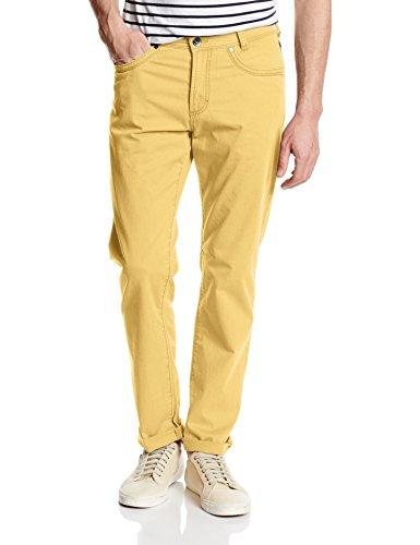 Atelier Gardeur Nevio-2 - Pantalon - Droit - Homme Jaune - Gelb (gelb 41)