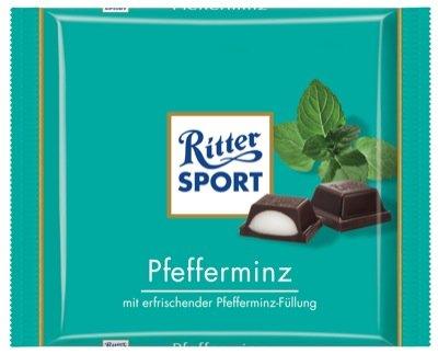 Ritter Sport 100g, Pfefferminz 12 x 100 g