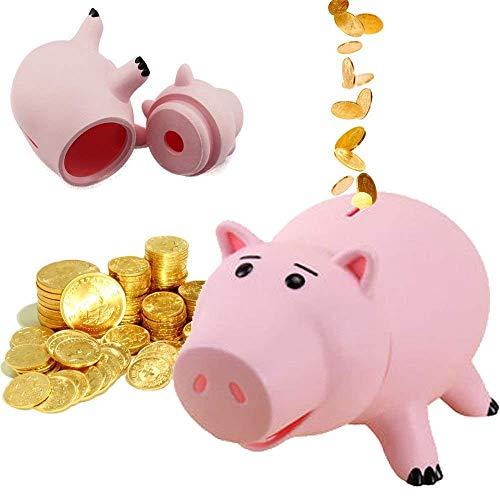 Bonito color rosa cerdo Hucha plástico-Hucha