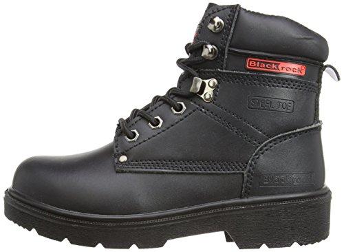 Segurança Preto Uk preto Ue preto 10 Preta adulto Rocha Sf08 44 Unisexo De Sapatos RwxHqnSU