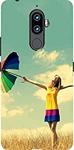 HICOVERS Beautiful Girl Illustration Best Desinger Printed Soft Silicone Case for Lenovo K8 Note