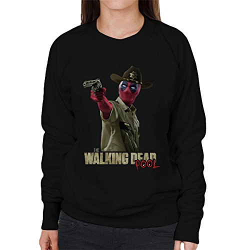 The Walking Deadpool Women's Sweatshirt Black