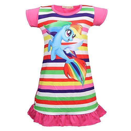 QYS Mein kleines Pony Kostüm Mädchen Cartoon Childs Kinderkostüm Outfi,140cm