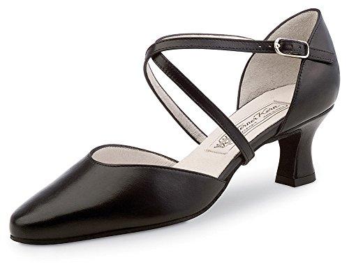 Werner nucléaire-Danse chaussures femme Patty 5,5 - Noir