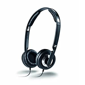 Sennheiser PXC 250 II Collapsible Noise Canceling On-Ear Headphone (Black)