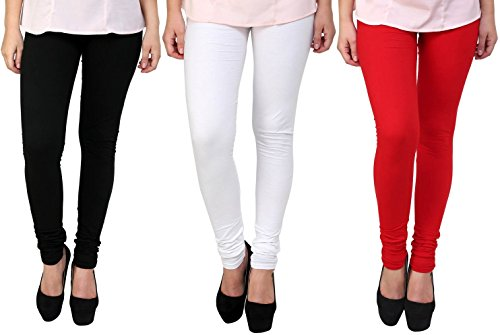 churidar leggings for women -churidar leggings online -Best Quality Red -Black-White combo Colour( Overall 20 Colours available) Legging - Churidar Length- Original -fine fabric only for girls /Women