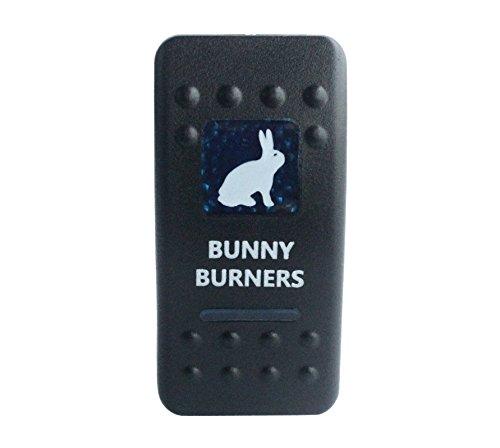 Grado marino BANDC coche barco conejo quemadores Rocker Interruptor LED azul 5pines...