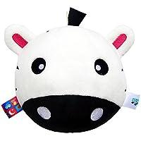 Preisvergleich für Baby-lustiges Spielzeug Baby Schöne weiße Kuh weiche Hand Rasseln Bell Kinder Baby Funnny Crawlen Bell Ball Spielzeug Geschenk