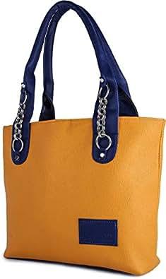 Typify Casual Shoulder Bag Women & Girl's Handbag (Mango)
