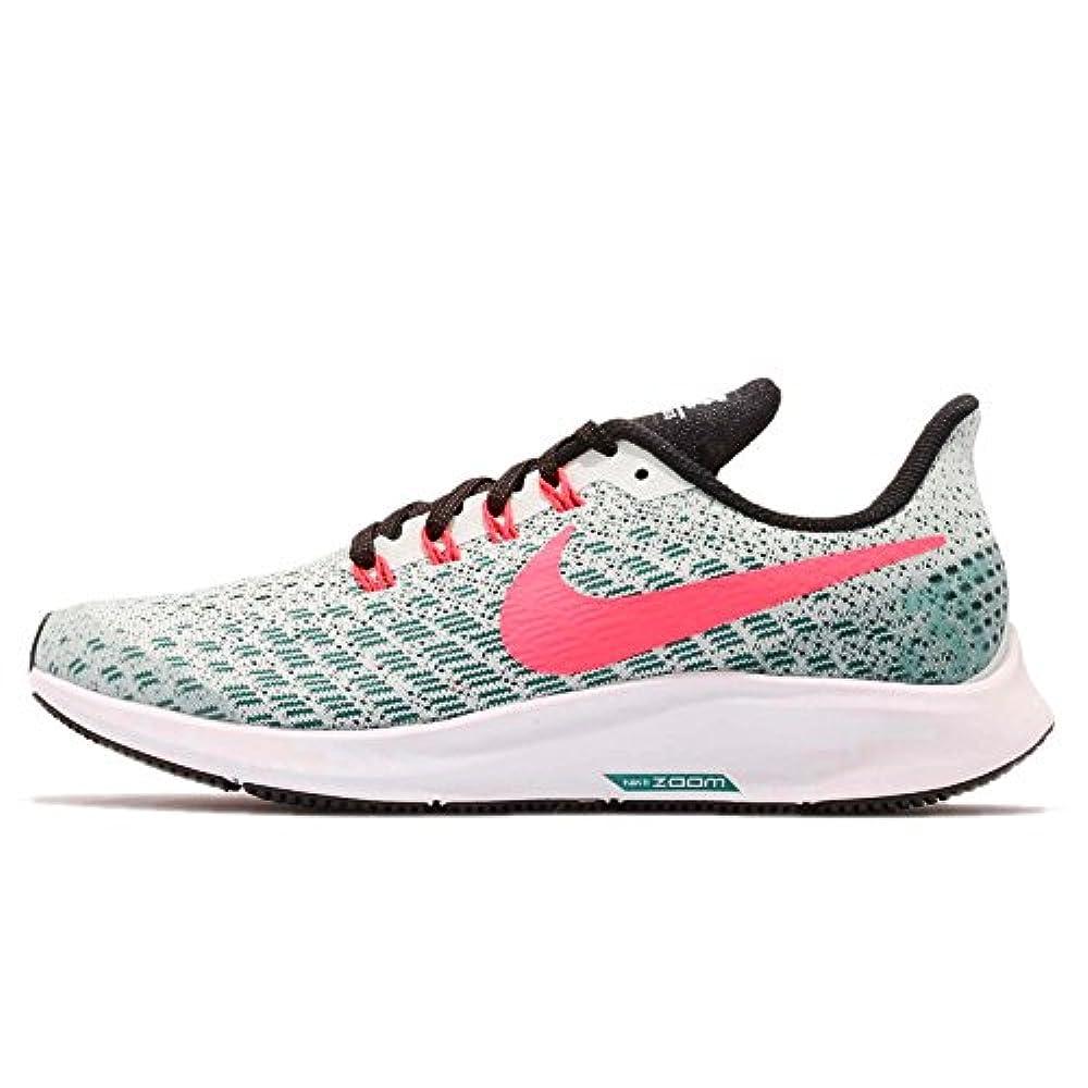 Nike Jungen Kinder Air Zoom Pegasus 35 Laufschuhe Mehrfarbig (Barely Grey/Hot Punch/Geode Teal/Black 004) 38 EU