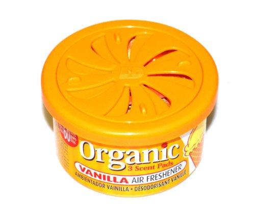 Preisvergleich Produktbild Organic Scents Cans for Cars Duftdose Lufterfrischer Vanilla - Vanille 38g