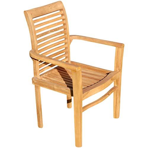 ASS ECHT Teak Design Gartensessel Gartenstuhl Sessel Holzsessel Gartenmöbel Holz sehr rob