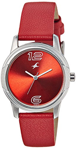 Fastrack Sport Analog Red Dial Women's Watch - 6099SL03 image