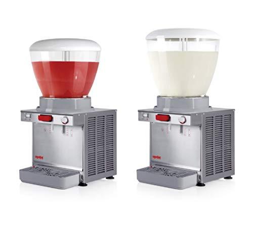 UGOLINI A12 Kaltgetränkeautomat - A19 Tischgerät für Kühlung und Verteilung natürlicher Säfte - Dispenser Made in Italy