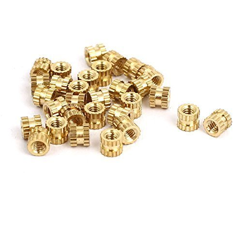 sourcingmapr-m2x3mmx35mm-female-threaded-brass-knurled-insert-embedded-nuts-30pcs