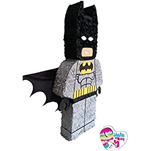 Piñata Lego Batman. Piñata Batman (Optionaler Stick)