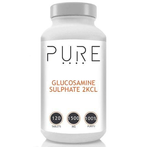 Bodybuilding Warehouse Puro Glucosamina Solfato / 1500mg - 120 compresse