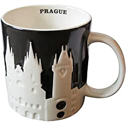 Starbucks City Mug Prague Relief Taza Pott 18oz