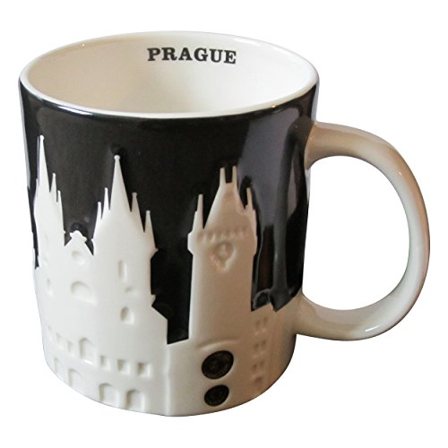 Starbucks City Mug Prague Prag Relief 3D Tasse Pott 18oz -