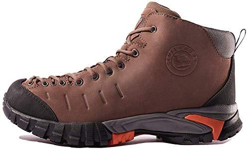 CAMEL CROWN Botas de Senderismo Impermeables Zapatos de Trekking para Hombre Transpirable Zapatilla...