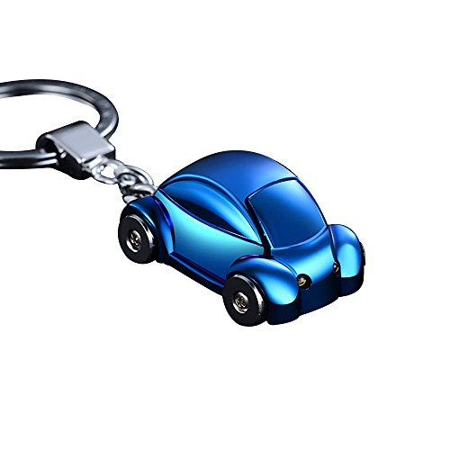 Mechero JOBON Mini Beetle coche elegante llavero con SOS linterna hecho de...