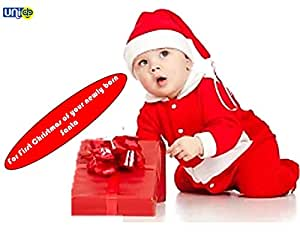 Selling Uniqness UNIq Baby Christmas Party Santa Costume Suit Outfits Set Toddler Kids Boys Girls Xmas (1-12 Months)