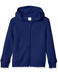 Amazon Essentials Fleece Zip-up Hoodie Bambino