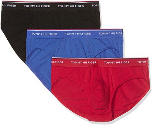Tommy Hilfiger Herren Slip Blau (Tango Red/Dazzling Blue/Black 901)