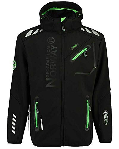 86L2 Amazon II Geographical Norway Rainman Herren Softshell Schwarz Gr. XL