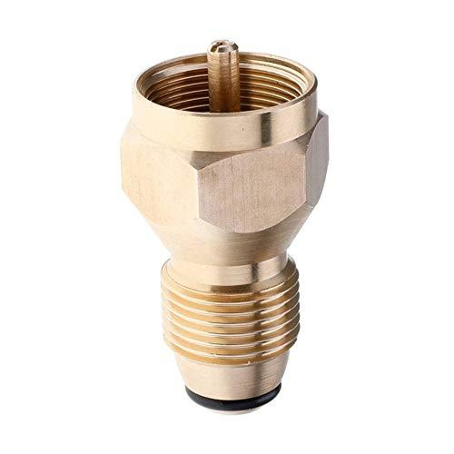 Peanutaod Universal Sicherheit Propan Refill Adapter Für £ Zylinder Koppler Heizung Flasche Massivem Messing Regelventil Zubehör -