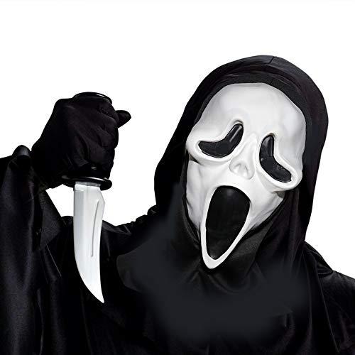 Supmaker Masquerade Erwachsene Scream Maske Ghost Gesichtsmaske Erwachsene -