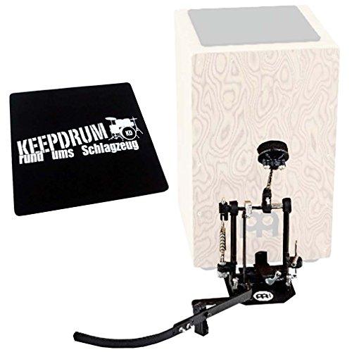 Meinl TMSTCP Direct Drive Cajon Pedal Fußmaschine + KEEPDRUM Sitzpad