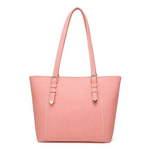 Mefly Nuova Donna Borsetta Europei E Americani Del Fashion Borsa A Tracolla Rosa Pink