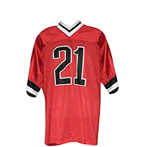 Dream2Reality Eyeshield 21 Cosplay Costume -Deimon Devil Bats Kobayakawa Sena American Football Jersey Kid Size Small